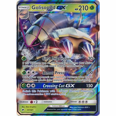 Golisopod GX 17/147 Ultra Rare - Pokemon Sun & Moon Burning Shadows Card