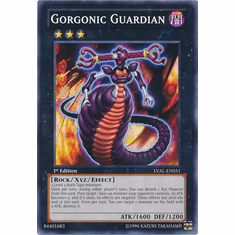 Gorgonic Guardian LVAL-EN051 - YuGiOh Legacy Of The Valiant Common Card