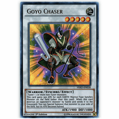 Goyo Chaser HSRD-EN038 Ultra Rare - YuGiOh High Speed Riders Card