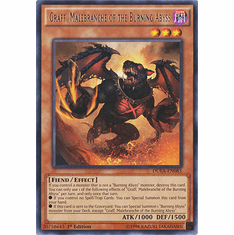 Graff, Malebranche of the Burning Abyss DUEA-EN083 - Duelist Alliance Card