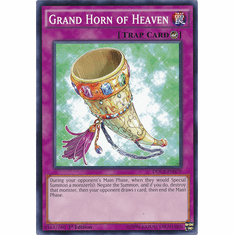 Grand Horn of Heaven DOCS-EN079 Common - Dimension Of Chaos Card