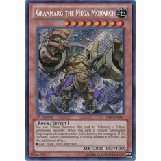 Granmarg the Mega Monarch SHSP-EN041 - Shadow Specters Secret Rare Card