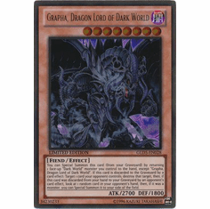 Grapha, Dragon Lord of Dark World GLD5-EN028 - YuGiOh Gold Rare Card
