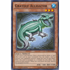 Graydle Alligator DOCS-EN033 Common - Dimension Of Chaos Card
