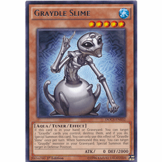 Graydle Slime DOCS-EN032 Rare - Dimension Of Chaos Card