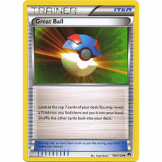 Great Ball 100/122 Uncommon - Pokemon XY Breakpoint Card