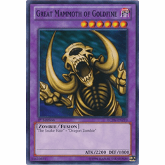 Great Mammoth of Goldfine LCJW-EN210 - YuGiOh Joey's World Common Card