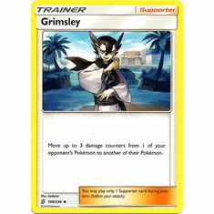 Grimsley - 199/236 - Uncommon Sun & Moon: Unified Minds