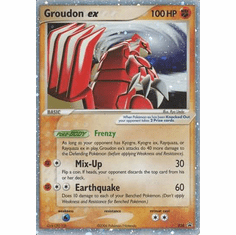 Groudon EX 038 - Pokemon Holo Ultra Rare Promo Card