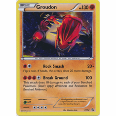 Groudon XY52 - Pokemon Holo Promo Card