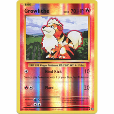 Growlithe 17/108 Common - Reverse Pokemon XY Evolutions Single Card