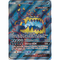 Guzzlord GX 105/111 Full Art - Pokemon Crimson Invasion Card