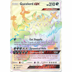 Guzzlord GX 116/111 Hyper Rare - Pokemon Crimson Invasion Card