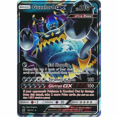 Guzzlord GX 63/111 Ultra Rare - Pokemon Crimson Invasion Card