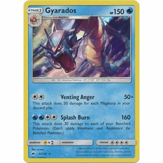 Gyarados 33/147 Holo Rare - Pokemon Sun & Moon Burning Shadows Card