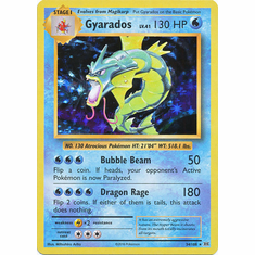 Gyarados 34/108 Holo Rare - Pokemon XY Evolutions Single Card