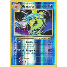 Gyarados 34/108 - Reverse Pokemon XY Evolutions Single Card