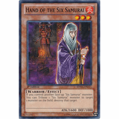 Hand of the Six Samurai SDWA-EN015 - YuGiOh Samurai Warlords Common