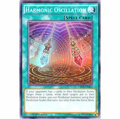 Harmonic Oscillation CROS-EN063 Common - YuGiOh Crossed Souls Card