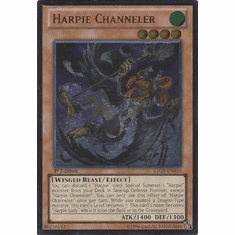Harpie Channeler LTGY-EN035 - Lord Of The Tachyon Galaxy Ultimate Rare