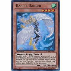 Harpie Dancer LCJW-EN097 - YuGiOh Joey's World Ultra Rare Card