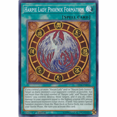 Harpie Lady Phoenix Formation YuGiOh � Legendary Duelists: Sisters of the Rose Common