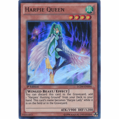Harpie Queen LCJW-EN094 - YuGiOh Joey's World Ultra Rare Card