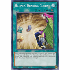 Harpie's Hunting Ground YuGiOh � Legendary Duelists: Sisters of the Rose Common