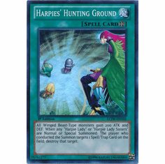 Harpies' Hunting Ground LCJW-EN102 - YuGiOh Joey's World Super Rare Card