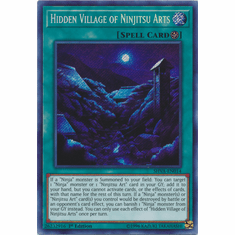 Hidden Village of Ninjitsu Arts - SHVA-EN014 - Secret Rare