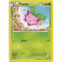 Hoppip 3/114 Common - Pokemon XY Steam Siege Card