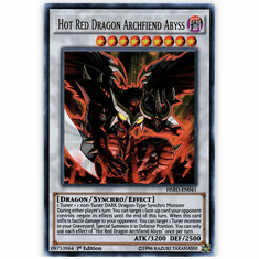 Hot Red Dragon Archfiend Abyss HSRD-EN041 Ultra Rare - YuGiOh High Speed Riders Card