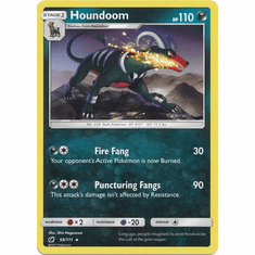 Houndoom 59/111 Rare - Pokemon Crimson Invasion Card