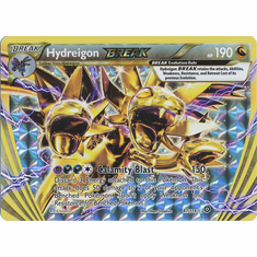 Hydreigon BREAK 87/114 Rare BREAK - Pokemon XY Steam Siege Card