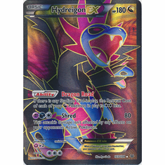 Hydreigon EX 103/108 Full Art - Pokemon XY Roaring Skies Card