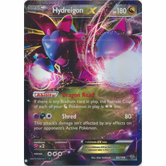 HydreigonEX 62/108 Ultra Rare - Pokemon XY Roaring Skies Card