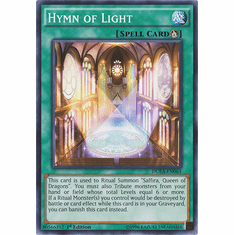 Hymn of Light DUEA-EN063 - Common Duelist Alliance Card