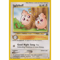 Igglybuff 36 - Pokemon Rare Promo Card