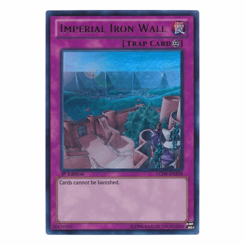 Imperial Iron Wall LCJW-EN298 - YuGiOh Joey's World Ultra Rare Card