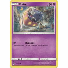 Inkay 50/131 Common - Pokemon Sun & Moon Forbidden Light Card