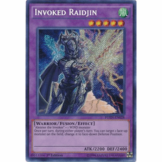 Invoked Raidjin - FUEN-EN028 - Secret Rare