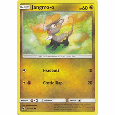 Jangmo-o 75/111 Common - Pokemon Crimson Invasion Card