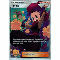 Janine - 210/214 - Full Art Ultra Rare Sun & Moon: Unbroken Bonds