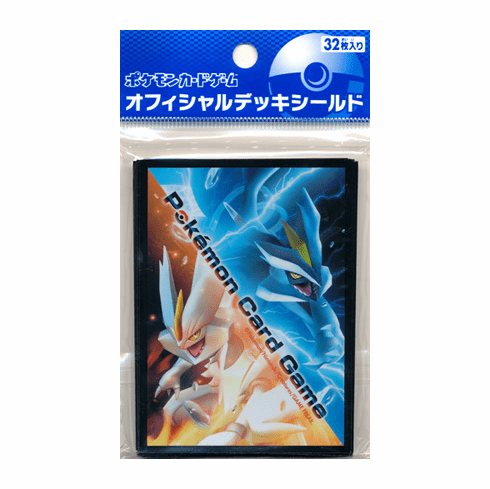 Japanese Pokemon Black & White Kyurem Card Sleeves (32ct)