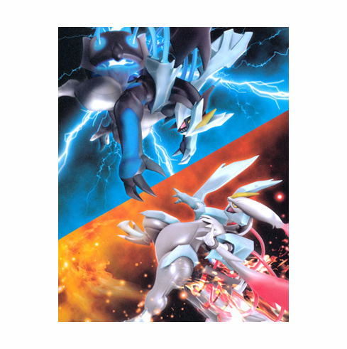 Japanese Pokemon Black & White Kyurem Mini Card Album