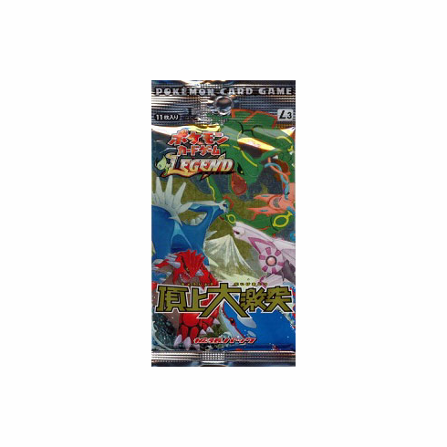 Japanese Pokemon Clash at the Summit Booster Pack