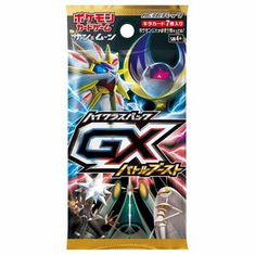 JAPANESE Pokemon GX Battle Boost SM4+ Booster Pack Sun & Moon