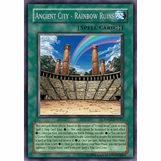 Jesse Anderson Ancient City Rainbow Ruins Rare Card