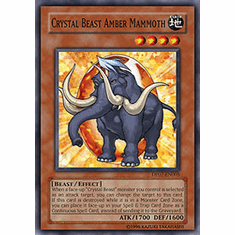 Jesse Anderson Crystal Beast Amber Mammoth Common Card