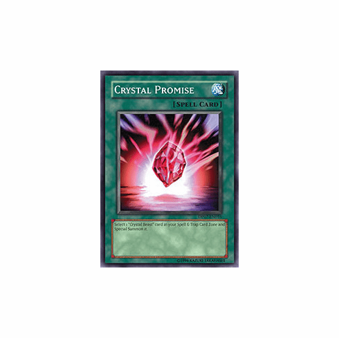 Jesse Anderson Crystal Promise Common Card